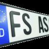 Ihr 3D-Kennzeichen an der GTÜ-Prüfstelle